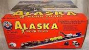 LIONEL Model Railroad/Train ALASKA WORK TRAIN 6-30045